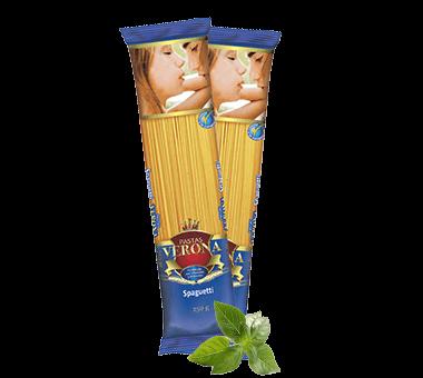 Spaghetti con champiñones